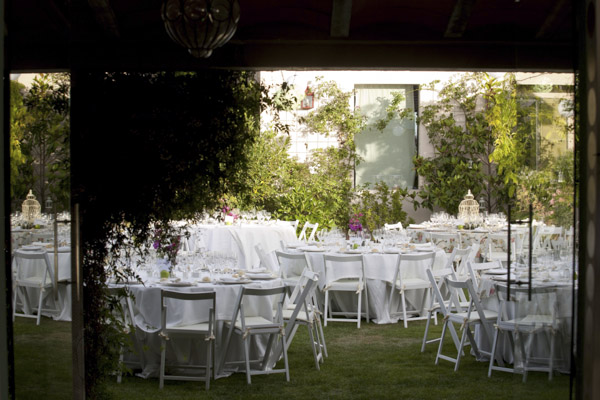 decoracion laurel catering total white