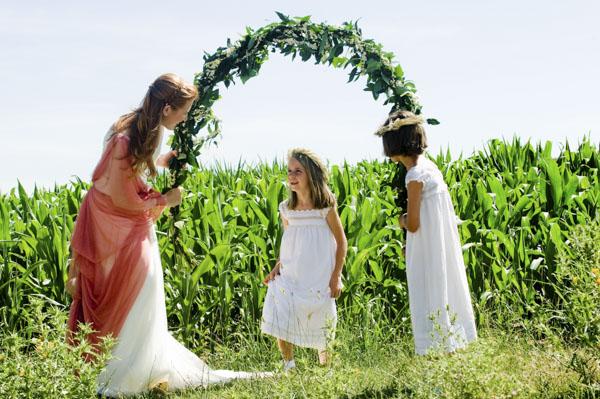 niños boda laurel catering