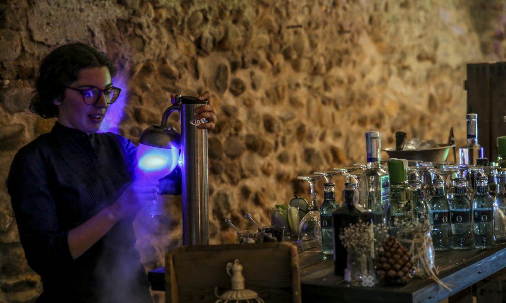 Bodas con champán en Casa de Oficios